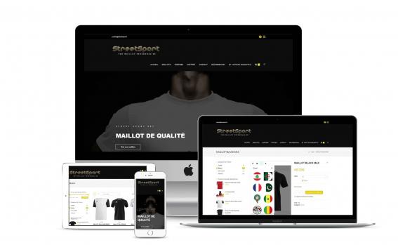 Création de site web streetsport007
